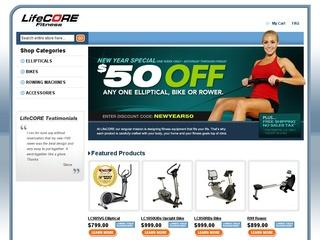 Lifecore Fitness Coupon 2013 $75 OFF