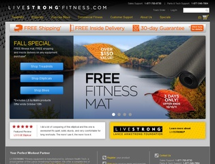 LIVESTRONG Fitness Exercise Bikes 2011