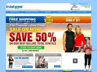 Total Gym 10% Off Coupon